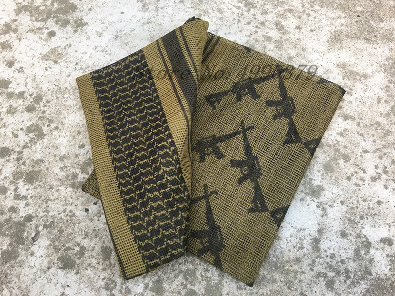 Military CamouflageTactical Face Mesh Quick Drying Breathbale Scarf Sniper Face Veil Scarves For Airsoft Hunting Cycling in Scarves from Sports Entertainment