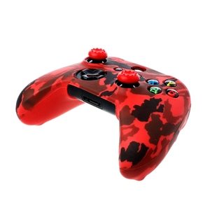 Image 5 - 2018 New Camouflage Silicone Gamepad Cover + 2 Joystick Caps For XBox One X S Controller
