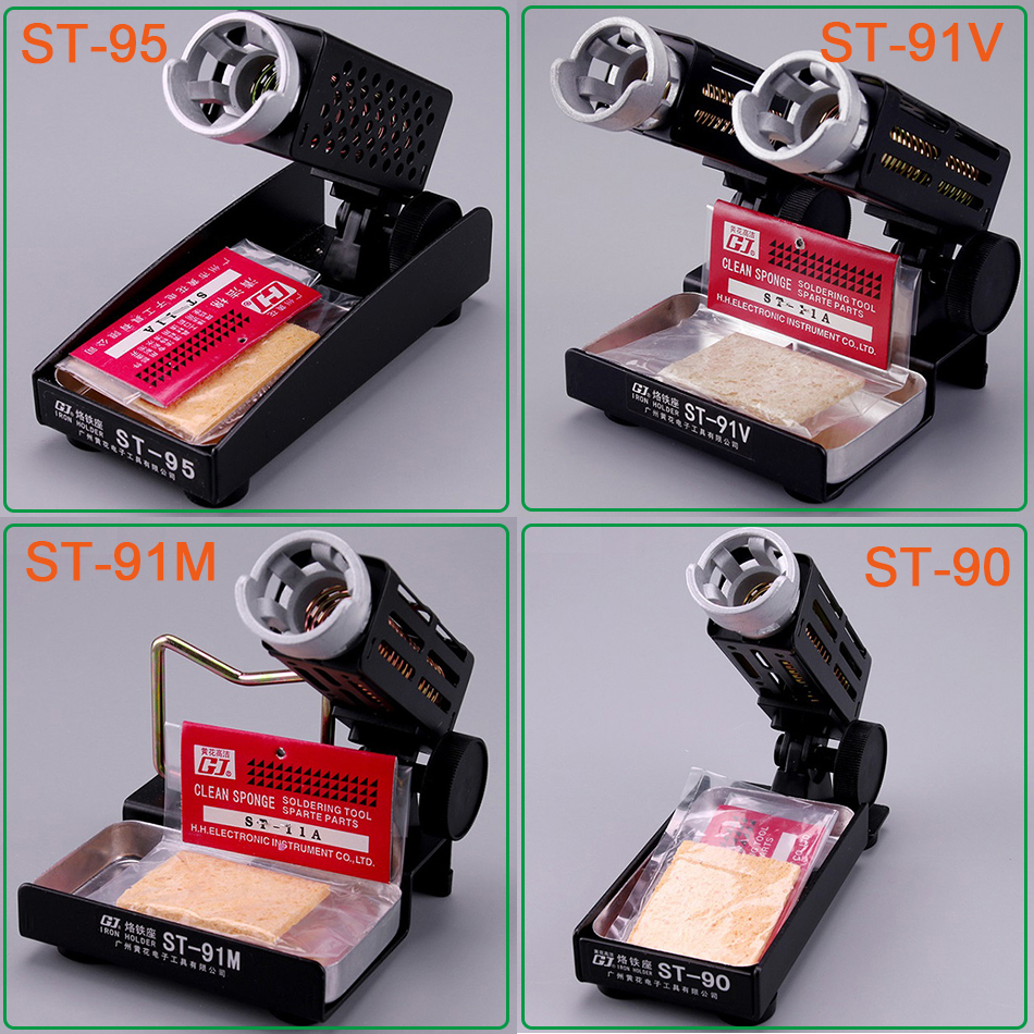 1pcs ST-91V ST-90 ST-91M ST-95 Soldering Iron Support Stand Station Metal Base Iron stand цена