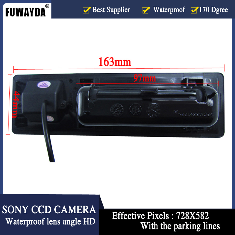 FUWAYDA Night Vision 170 '' Լայն դիտում Անկյուն - Ավտոմեքենաների էլեկտրոնիկա - Լուսանկար 2