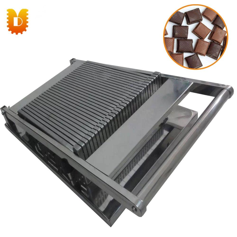 Chocolat Machine De Découpe/Chocolat Machine À Trancher/Chocolat Trancheuse/Bande-type ou type Carré