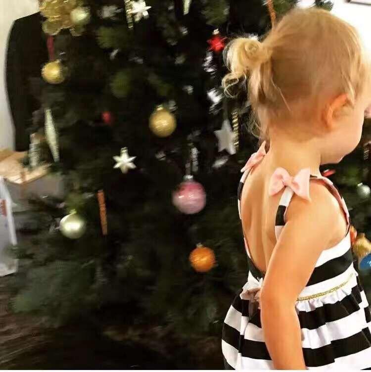 HTB1ZELlPVXXXXbAXFXXq6xXFXXXo - Baby Girls Dress Summer 2017 Stripe Dress Baby Dressing for Party Holiday Black and White with Bow Kids Clothes Girls Cute Brand
