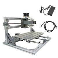 DIY Mini 3 оси CNC3018 Высокоточный гравировальный станок с ЧПУ резьба Pcb фрезерный станок древесины маршрутизатор гравер принтер