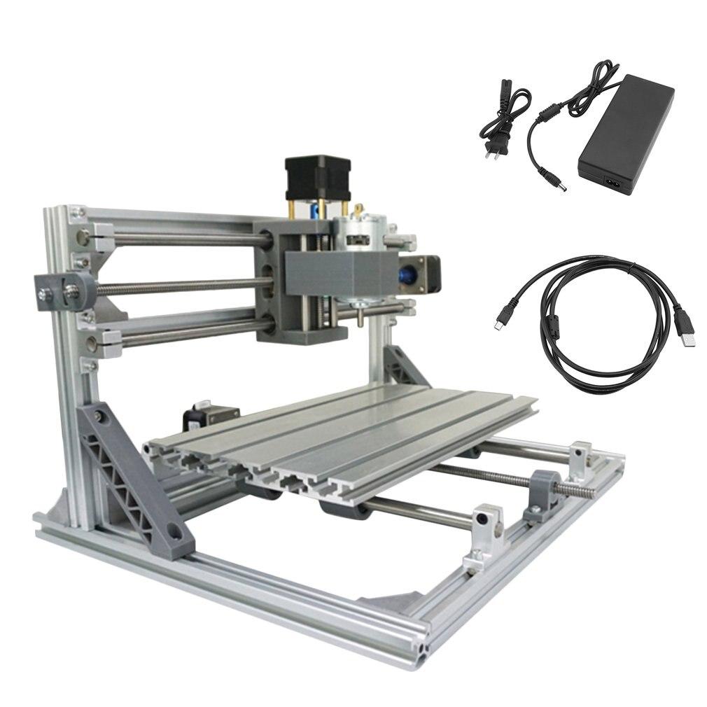 DIY Mini 3 Essieu CNC3018 Haute Précision CNC Gravure Sculpture Machine Pcb Fraisage Bois Routeur Graveur Imprimante