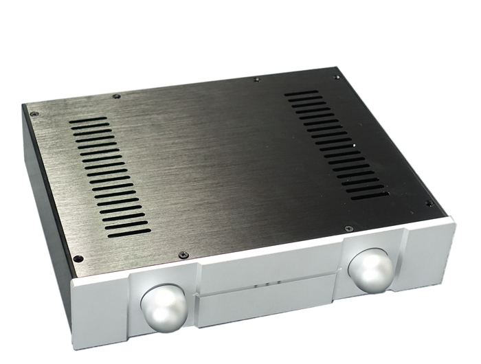 NEW BZ3207A Full Aluminum Chassis / Preamp Case/ Power Amplifier Enclosure high quality full aluminum power amplifier enclosure suitable for pga2311 preamp