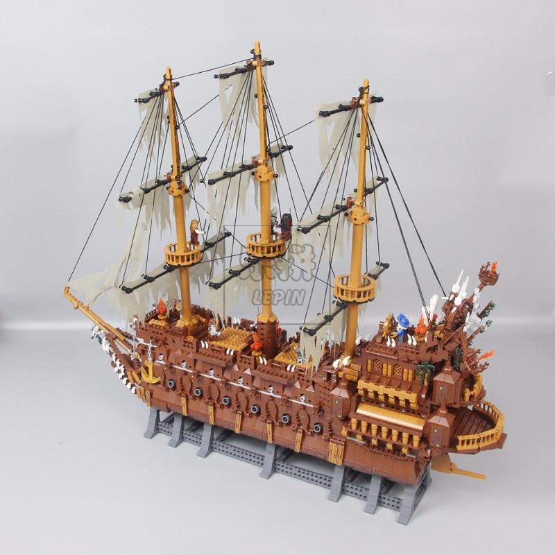 Pirates Of The Caribbean 16006 16009 16016 22001Black Pearl Ship  4184 4195 70618 Model Building Kits Blocks