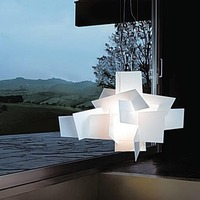 D65cm/95cm Modern Foscarini Big Bang Stacking Creative Modern Chandelier Lighting Art Pandant Lamp Ceiling LED 90 260V Replica