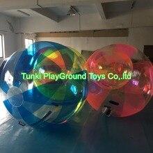 Чистый ТПУ ходьба в пластике человека надувной bump мяч пузырь футбольный костюм