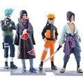 4 шт. figuine Наруто Узумаки Наруто какаши набор 11 см 2016 Новый Наруто саске фигура игрушки Украшения Коллекции Подарок figurarts