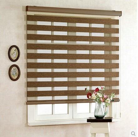 Aliexpress.com : Buy Sun insulation curtain partition zebra Korean ...