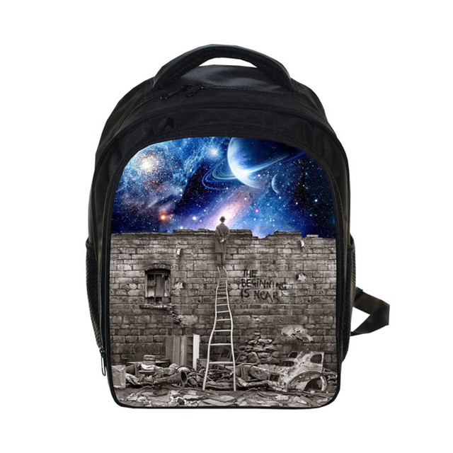 NASA School Backpack For Children School Bags Space Galaxy Boys Girls Backpacks Kids Astronaut Spaceman Bag Nasa Best Gift Bag
