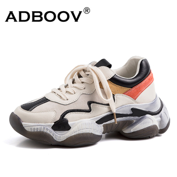 promo codes discount best loved ADBOOV Corss-Tied Women Sneakers Cow Leather Shoes Woman ...