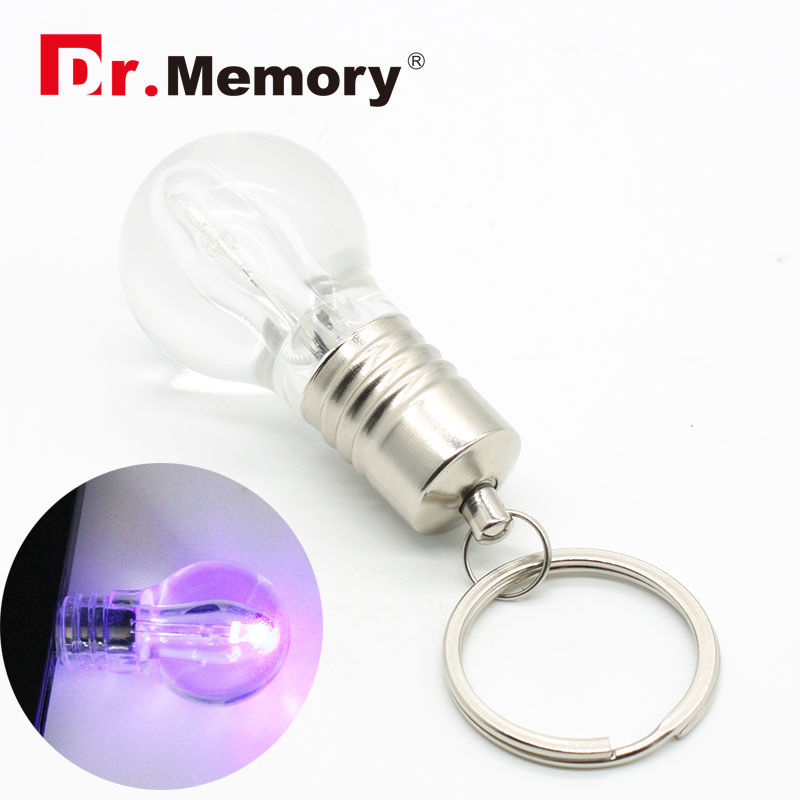 Funny 64GB USB Flash Drives Light Bulb Toy 32GB Pendrive Personalized Creative 4GB 8GB U Disk On Key 16GB Memory Stick Pen Drive
