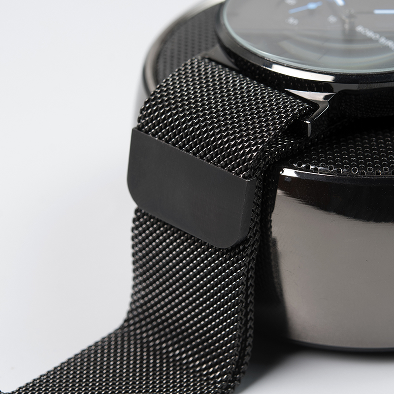 aço inoxidável data exibição relógios de quartzo