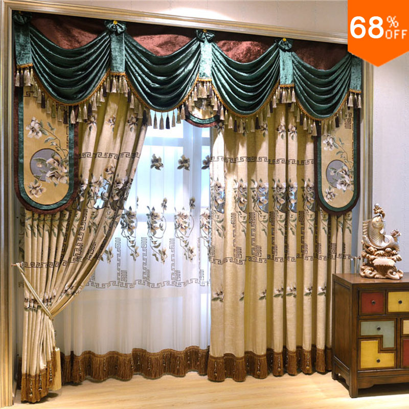 Middle Age Earls Luxury Transformers green curtains