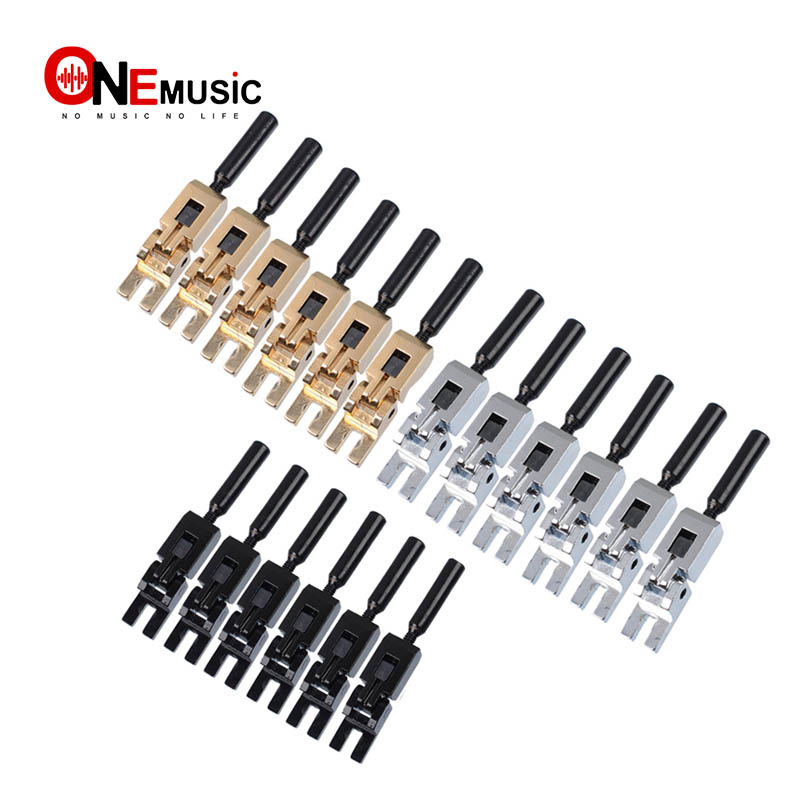buy 6pcs electric guitar tremolo bridge locked string saddles for electric. Black Bedroom Furniture Sets. Home Design Ideas