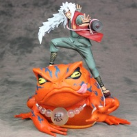Huong Anime Cartoon Naruto Shippuden Jiraiya / Gama Bunta Jiraya Naruto PVC Figure Collectible Model Toy