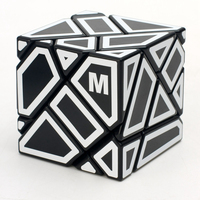 Hollow M Sticker 3x3x3 Ghost Cube Speed Magic Cube Puzzle Game Educational Toys For Children Kids