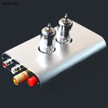 IWISTAO Tube MM/MC Moving Coil Moving Magnetic Phono Preamplifier 6J1 Vinyl Records Phonograph Amplifier