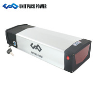 36V Rack Battery 36V 20Ah Electric Bike lithium ion battery pack fit for 36V 250W 300W 350W 500W eBike Bamotor