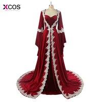Abiye Burgundy Velvet Saudi Arabic Dubai Kaftan Long Sleeve Evening Dress Appliques Elegant Islamic Women Moroccan