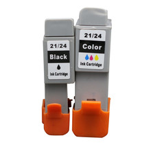 2PK Black and Color Inkjet Cartridge Compatible for Canon PIXMA  iP1000 iP1500 iP2000 MP110 MP130 BJC-2000SP Printer Ink