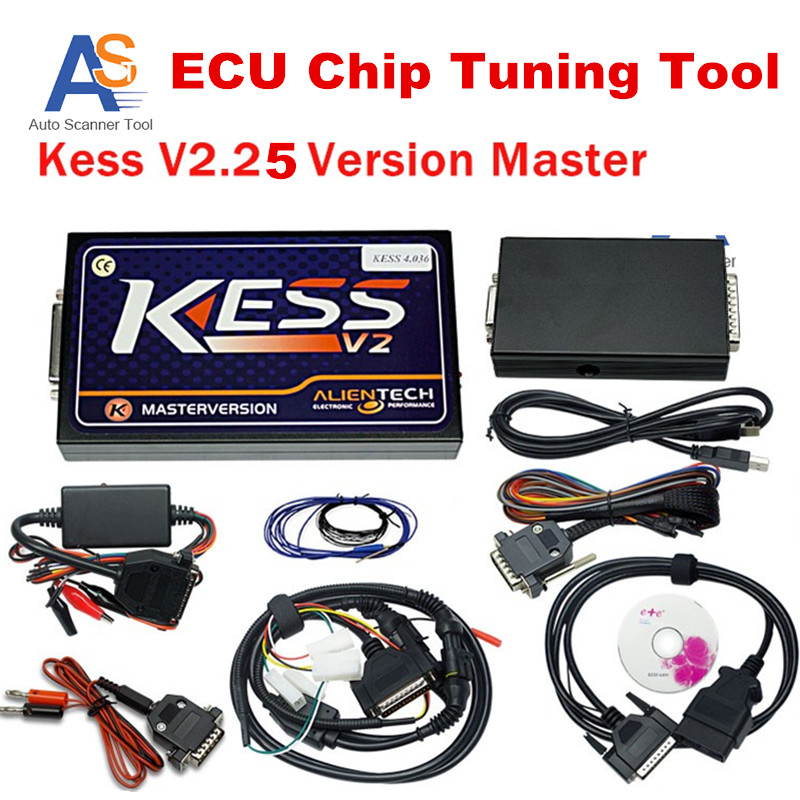 2016 KESS V2 25 OBD2 programer Kess Manager Tuning Kit ECU Chip Tuning Scanner NoToken unlimited