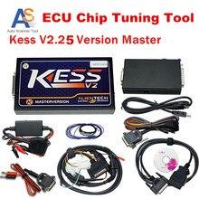 2016 V2.25 KESS OBD2 Gerente Sintonía Kit Kess ECU Chip Tuning programador Escáner NoToken ilimitada Maestro Kess V2