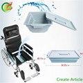 Estrutura de aço Leve Dobrável Handpower Assento De Cadeira De Rodas Manual Com Corte Com ISO/TUV/CE Certificado