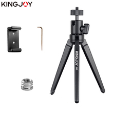 Kingjoy KT-30 aluminum wearable high quality tabletop digital camera tripod for supporting selfie stick