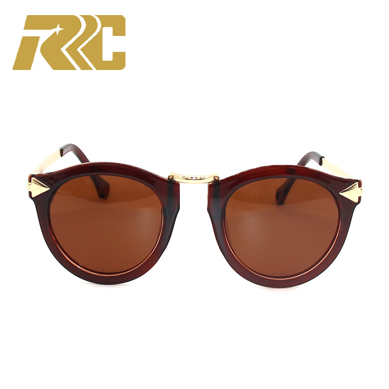 0ba1869f57 RRC 2018 Luxury Vintage Round Sunglasses Women With Flower Frame Cat Eye  Sunglasses Sun Glasses For Wome Ladies Sunglass