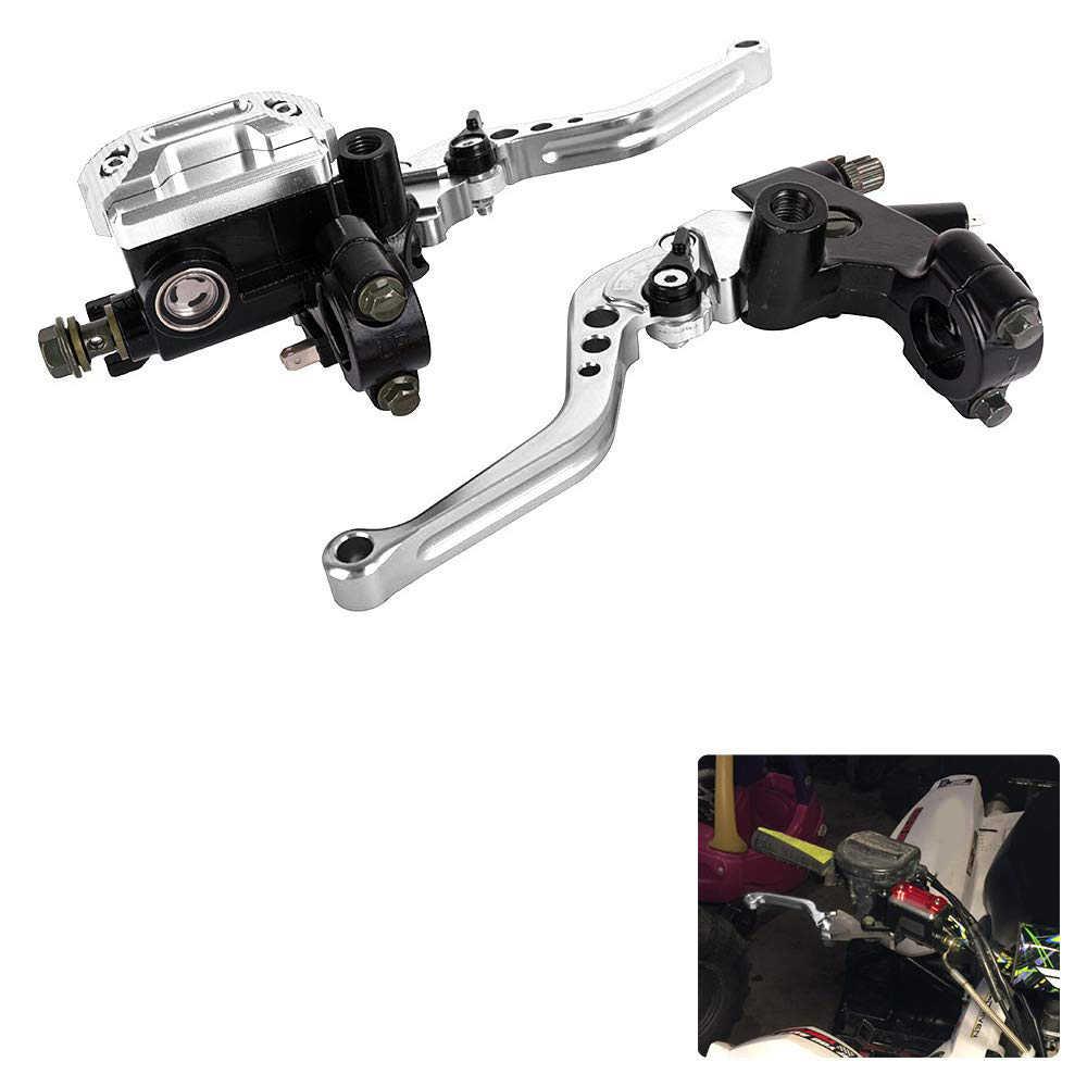La pompe de frein universelle de moto de 22Mm manipule le Kit de levier de maître réservoir de cylindre hydraulique pour Honda pour Yamaha