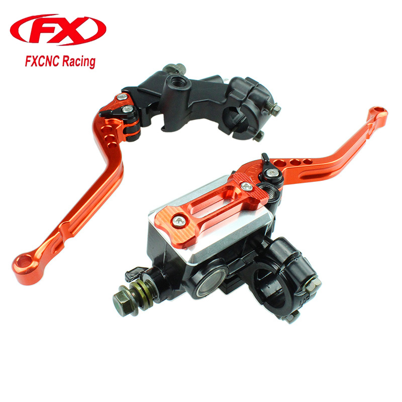 For KAWASAKI 125-300CC Master Cylinder Reservoir Hydraulic Brake Cable Clutch Levers For Motorcycle Brake Clutch Levers 7 8 22mm universal motorcycles brake clutch levers master cylinder reservoir for suzuki 125 300cc moto hydraulic brake lever