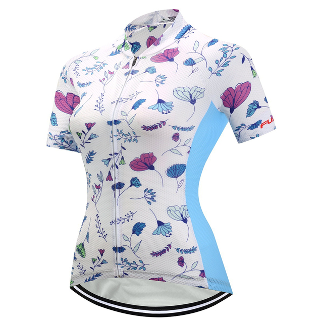 FUALRNY Caitlin Summer Breathable Women Mountian Bike Clothing Bicycle  Clothes Ropa Ciclismo Girls Bike Shirt Cycling Jersey 51954c934