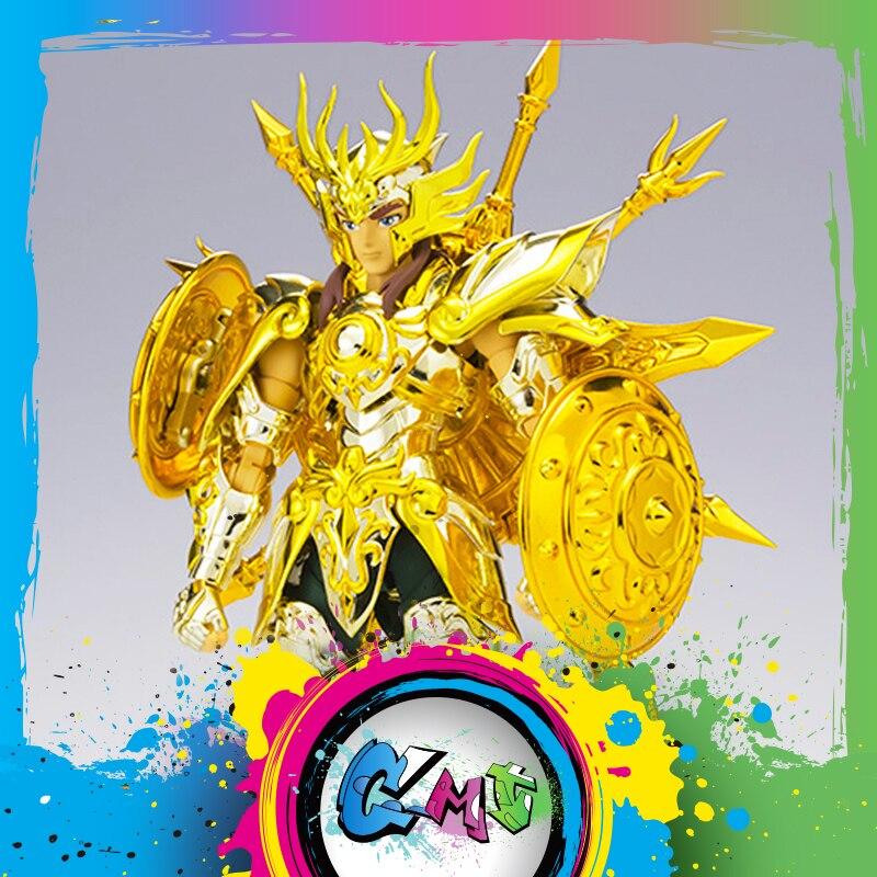 CMT Instock Original BANDAI Tamashii Nations Saint Seiya EX Libra Dohko God Cloth SOG Action Figure Myth Metel Armor Toys Figure