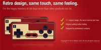 DHL FedEx consegna 8 Bitdo FC30 Originale Gamepad wireless Bluetooth controller di gioco Joystick per IOS Android Gamepad Per PC