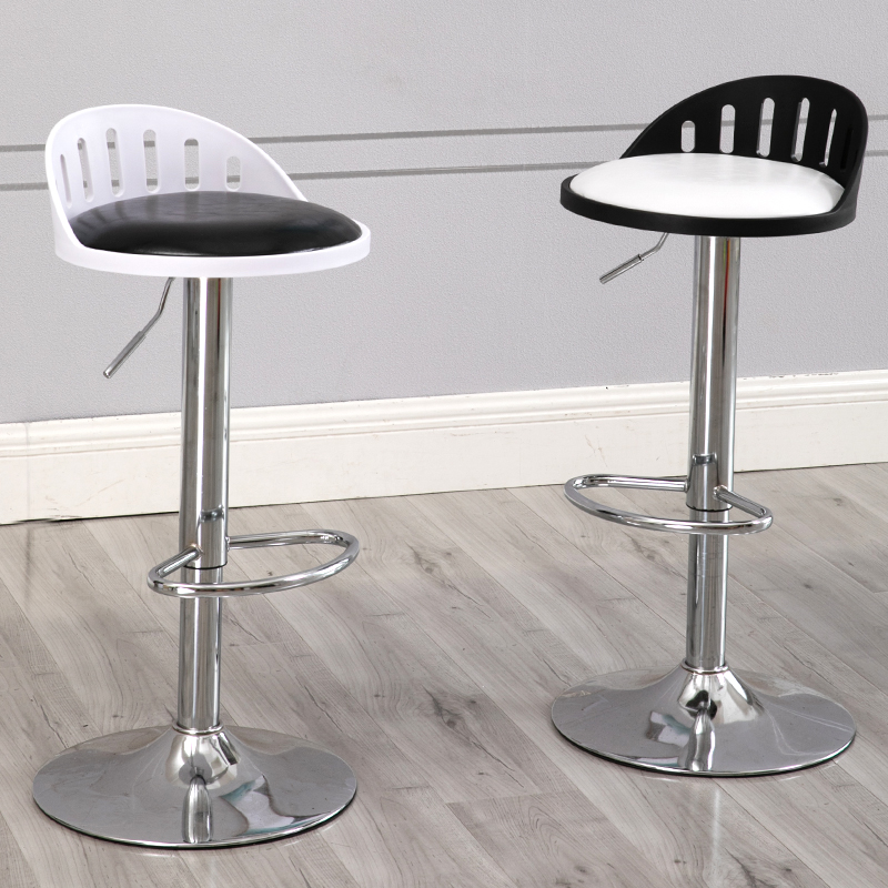 Furniture Energetic Modern Minimalist Bar Chair Lift Bar Table And Chair European Front Desk Rotating Backrest High Stools Fashion Ideas Removing Obstruction