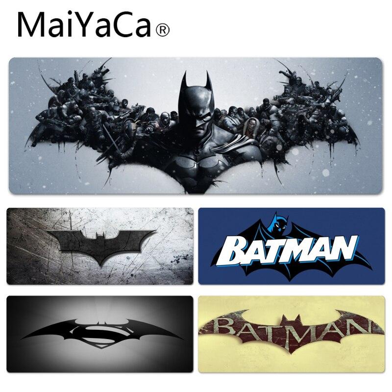 MaiYaCa Custom Skin Batman Comcis Große mauspad PC Computer matte Größe für 30x80 cm 30x90 cm Gummi Mauspad