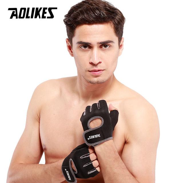 Half Finger Fitness Anti-slip Gloves