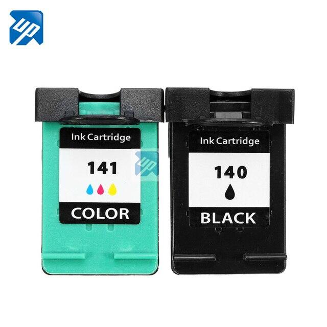 2Pk ink Cartridge for HP 140 141 for HP DeskJet 5363 D4263 OfficeJet 6413 J5783 J5783 J6413 C4283 C4343 C5283 D5363 printer