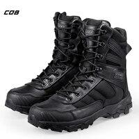 CQB открытый свет Вес Пеший Туризм Армейские ботинки Для мужчин специальные военные амортизация износостойкости Армейские ботинки