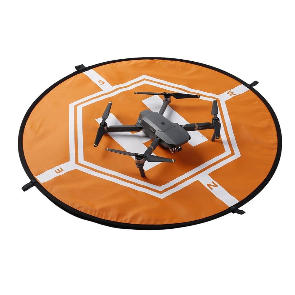 Universal Lightweight Sun-protection Double Color Fast-fold 4 Land Nail Waterproof Landing Pad For DJI Mavic Pro Phantom 2 3 4