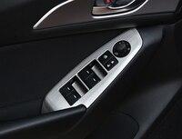 For Mazda Axela M3 2017 car window lifting panel sticker