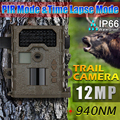 "Bestguarder SG-008 12MP HD Infrared Trail Camera with Night Vision,IP66, 48pcs No Glow IR LED, 1.5"" LCD Display, Scouting Camera"