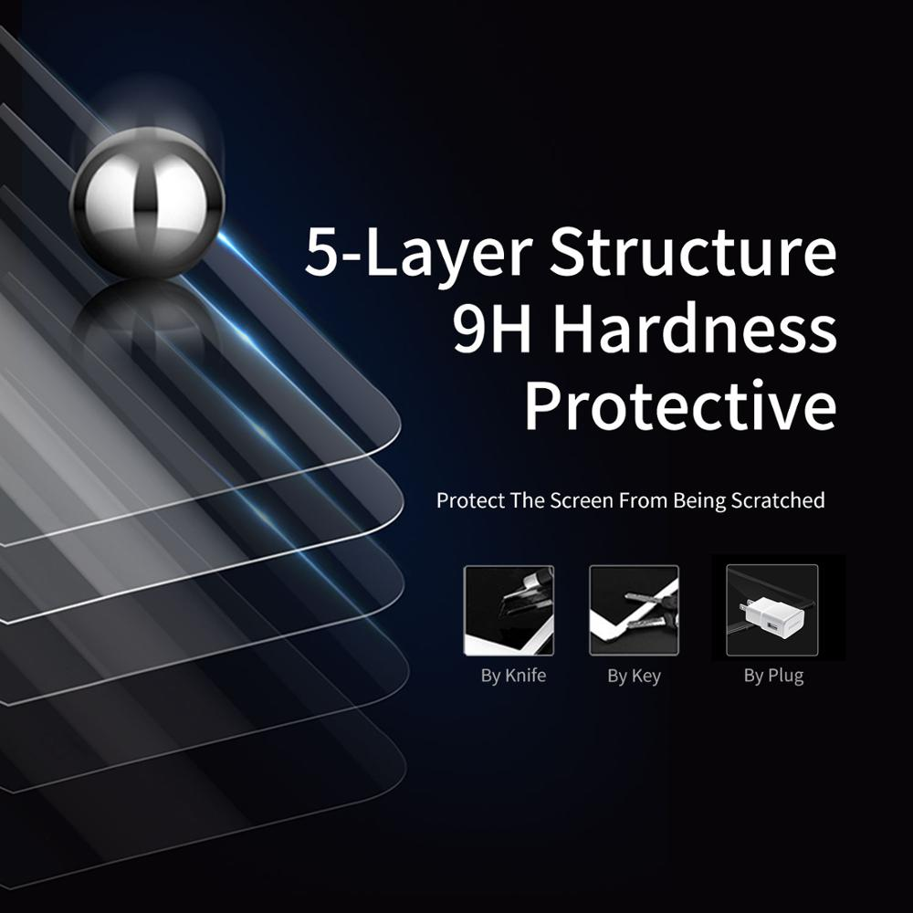 Tempered Glass For Samsung Galaxy Tab S5E Screen Glass Film Anti fingerprint Protection Blue Light Resistant HD Full Cover in Tablet Screen Protectors from Computer Office