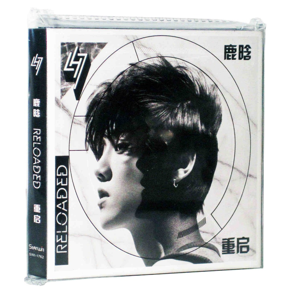 Newest  Official Superstar Singer Aries Luhan CD Album Reloaded I ,1CD+1DVD