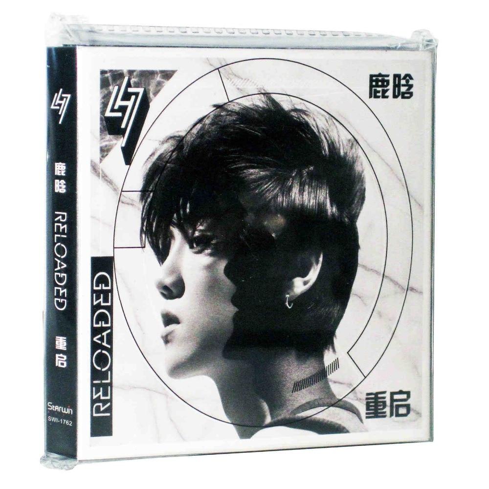 Newest  Official Superstar Singer Aries Luhan CD Album Reloaded I ,1CD+1DVD