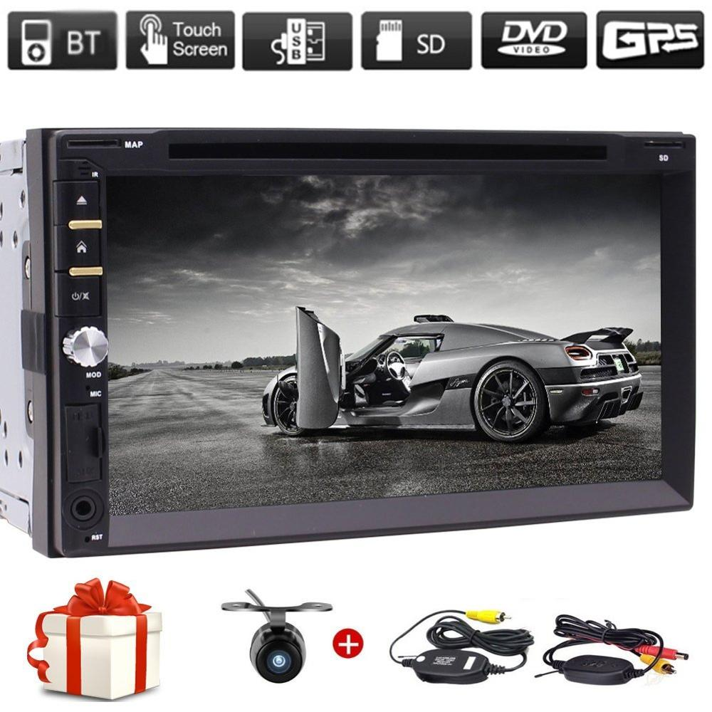 Eincar Free font b wireless b font Backup Camera 2Din Car Radio in Dash FM Touchscreen