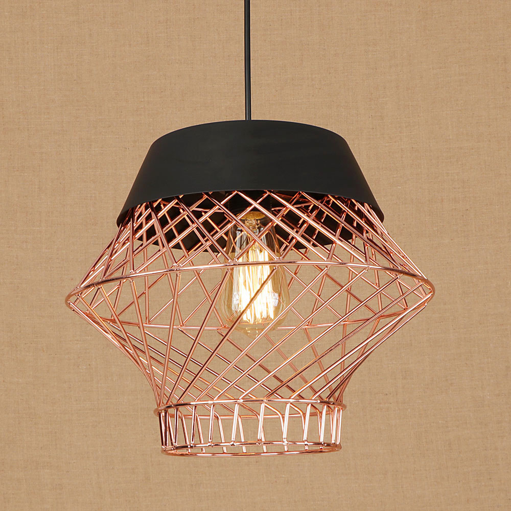 Loft style simple iron droplight industrial vintage led pendant light fixtures for dining room hanginglamp home lighting