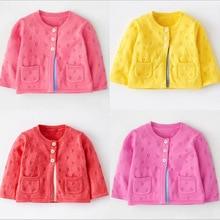 Casido детские детская одежда мальчики девочки конфеты цвет вязаный кардиган свитер дети весна/лето/осень/зима хлопка верхней одежды